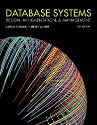 Database Systems: Design, Implementation, Management (MindTap Course List)