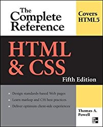 HTML & CSS: The Complete Reference, Fifth Edition (Complete Reference Series)